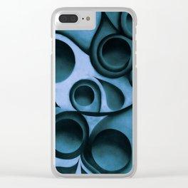 The Blue Beech Bauls Clear iPhone Case