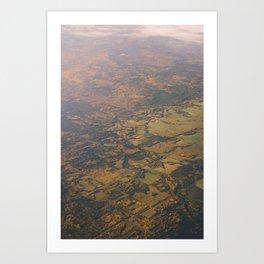 Alberta Countryside Art Print