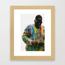 back in time Framed Art Print