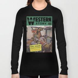 Street & Smith's Western Story - February 1941 Long Sleeve T-shirt
