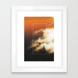 The Woods Have Secrets Framed Art Print