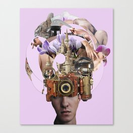 Desire Machines Canvas Print