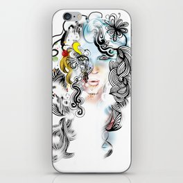 lined iPhone Skin