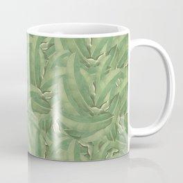Banana Leaf Pattern Coffee Mug