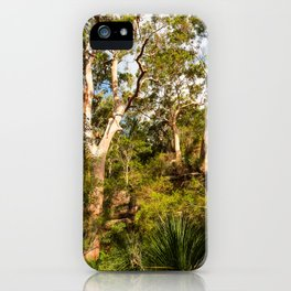 Aussie Bush Scene iPhone Case