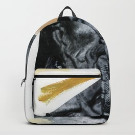 Untitled (Painted Composition 12) Backpack
