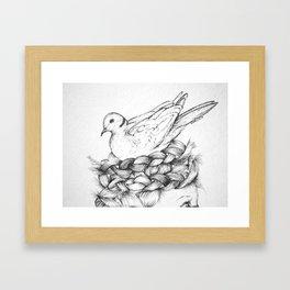 Tree Trimmings Framed Art Print