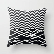 defragmentation Throw Pillow