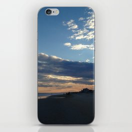 Forming clouds iPhone Skin