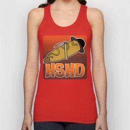 Horrorshow Hot Dog Logo - Children of the Corndog variant Unisex Tank Top