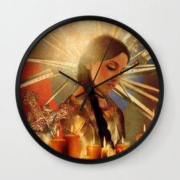 Joan d' Arc Wall Clock