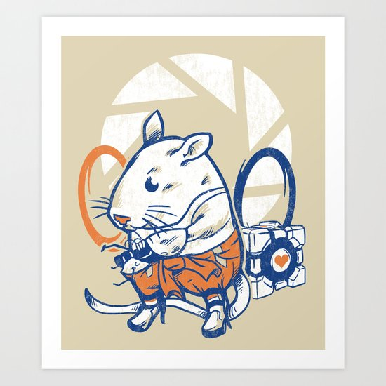 Rat Subject Art Print