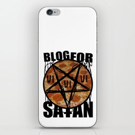 BLOG FOR SATAN iPhone Skin