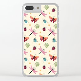 Insects all around Clear iPhone Case