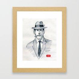 Mad Man (drawing) Framed Art Print