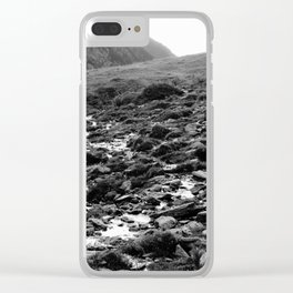 Wet Rocks Clear iPhone Case