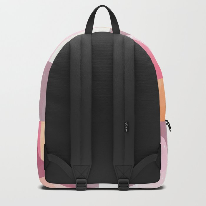 Abstract Geometric Mountains Design Backpack