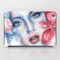 lily iPad Cases featuring Lily by broken colors