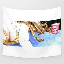 Nudegrafia - 009 Nereida Wall Tapestry