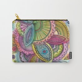 Fairground Paisley Carry-All Pouch