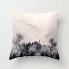 I fall behind Throw Pillow