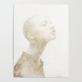 Bald Lady - 4 Poster