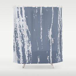 Scratched Paint Shower Curtain
