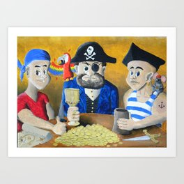Pirates! Art Print