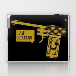 Dangerously Golden Laptop & iPad Skin