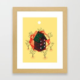 Cabin In The Woods 2 Framed Art Print