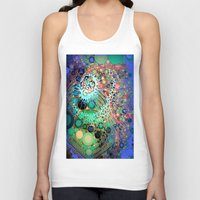 jellyfish Tank Tops featuring Jellyfish by AlyZen Moonshadow