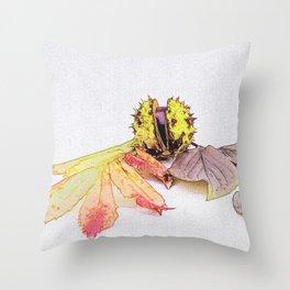 autumn feelings Throw Pillow
