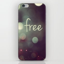 free II iPhone Skin