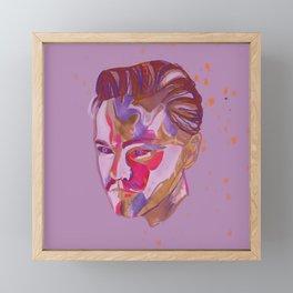 Di Caprio Framed Mini Art Print