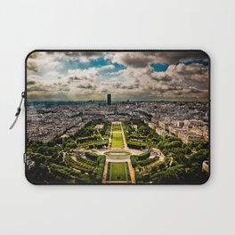 Paris from the Eiffel Tower Laptop Sleeve