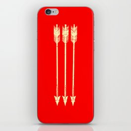 Arrows Yellow and Red iPhone Skin