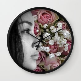 Where's your Smile at, Mona Lisa? Wall Clock