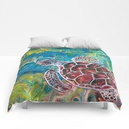 Sea Turtle Dream Comforters