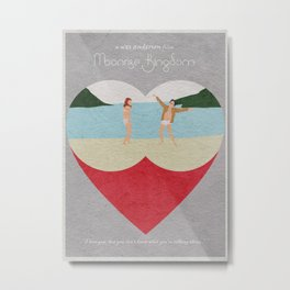 Moonrise Kingdom Metal Print