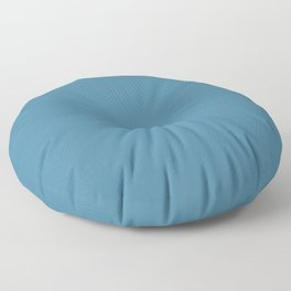 Steel Blue Floor Pillow