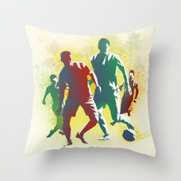 Football is more than a game Throw Pillow