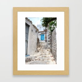 The Way to Greece IV Framed Art Print