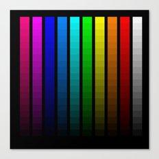 Color scale Canvas Print