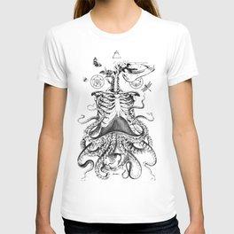 Engraving - Chimera_01 T-shirt