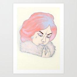 Glam  Art Print