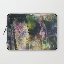 Trick or treat, the lady with a mask Laptop Sleeve