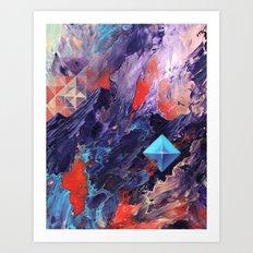 The Disillusion of Self Perception. Art Print