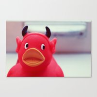 diablo Canvas Prints featuring Diablo Duck by MSG Imaging