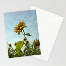 Sunny Flower Stationery Cards