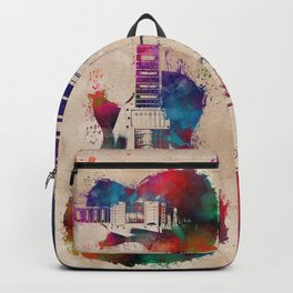 guitar art #guitar Backpack
